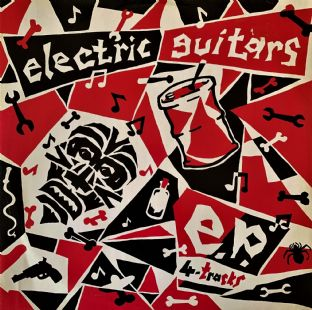 "Electric Guitars - EP 4-Tracks (12"") (EX-/VG-)"